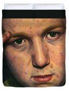 Salute Duvet Cover by James W Johnson