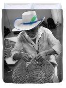 Salvadorean Handcrafter Duvet Cover