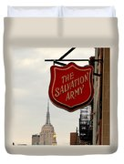 Salvation Army New York Duvet Cover