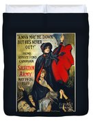 Salvation Army Poster, 1919 Duvet Cover
