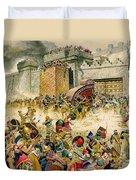 Samaria Falling To The Assyrians Duvet Cover