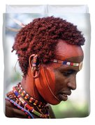 Samburu Warrior Duvet Cover