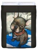 Sammy The French Bulldog Duvet Cover