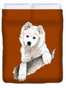 Samoyed Puppy Duvet Cover