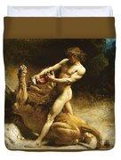 Samson's Youth Duvet Cover