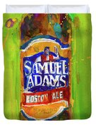 Samuel Adams Boston Ale Duvet Cover