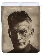 Samuel Beckett 1 Duvet Cover