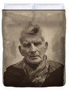 Samuel Beckett 2 Duvet Cover