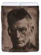 Samuel Beckett 01 Duvet Cover
