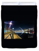 Samuel Beckett Bridge 2 Duvet Cover