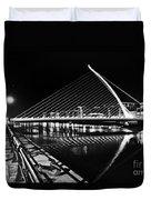 Samuel Beckett Bridge 5 Bw Duvet Cover