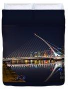 Samuel Beckett Bridge  Duvet Cover