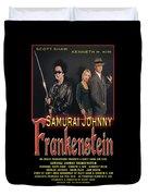 Samurai Johnny Frankenstein Duvet Cover by The Scott Shaw Poster Gallery