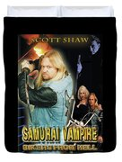 Samurai Vampire Bikers From Hell Duvet Cover