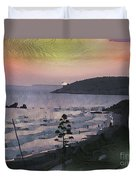 San Adeodato Sunset Duvet Cover