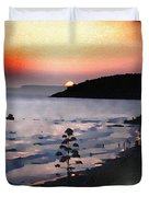 San Adeodato Sunset II Duvet Cover