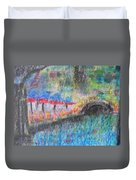 San Antonio By The River I Duvet Cover