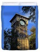 San Antonio Clock Duvet Cover