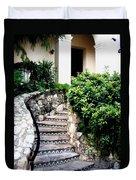 San Antonio Stairway Duvet Cover