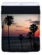 San Clemente Duvet Cover by Ralf Kaiser