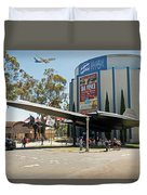 San Diego Air And Space Museum Duvet Cover