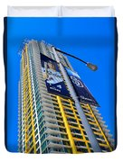 San Diego Apartment Tower Duvet Cover