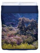 San Diego County Canyon Duvet Cover