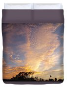San Diego Sunsrise 3 7/12/15 Duvet Cover