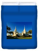 San Diego Towers Duvet Cover