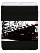 San Diego Trolley Duvet Cover