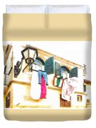 San Felice Circeo Put Clothes Duvet Cover