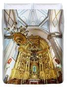 San Felipe De Jesus Satelite Duvet Cover
