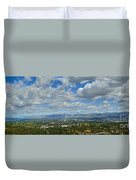 San Fernando Valley Panorama Duvet Cover