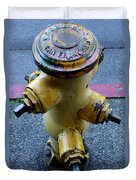 San Fran Hydrant Duvet Cover