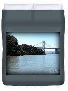 San Francisco Bay Bridge Duvet Cover