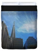 San Francisco Cityscape Duvet Cover