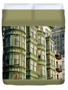 San Francisco Color Duvet Cover