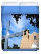 San Francisco De Asis Church Duvet Cover