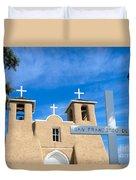 San Francisco De Asis Mission Church Duvet Cover