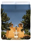 San Francisco De Assisi Mission Church Taos New Mexico 2 Duvet Cover