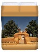 San Francisco De Assisi Mission Church Taos New Mexico Duvet Cover
