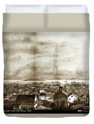 San Francisco, From Clay Street, 1855 Duvet Cover