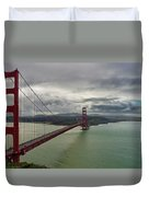San Francisco Golden Gate Bridge Duvet Cover