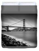 San Francisco Golden Gate Duvet Cover