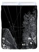San Francisco In Motion Duvet Cover