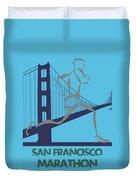 San Francisco Marathon2 Duvet Cover