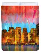 San Francisco Skyline 11 - Pa Duvet Cover