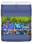 San Francisco Skyline 115 - Pa Duvet Cover