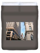 San Francisco Street View - Parc 55  Duvet Cover