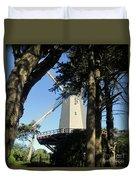 San Francisco Windmills Duvet Cover